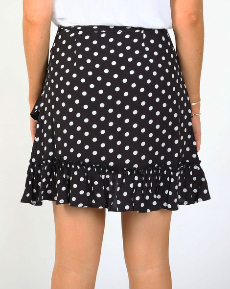 Spotty melita skirt blk B