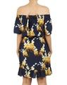 Floral anise dress B