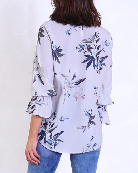 Sketch floral blouse B