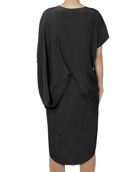 nuccia dress black back