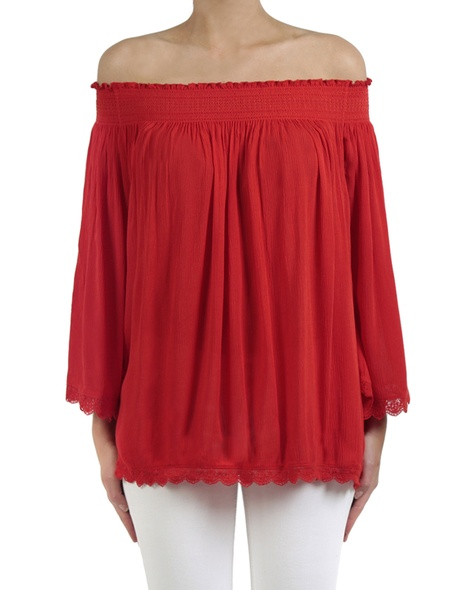 Marjorca top red front copy