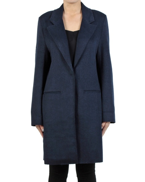 Kaylee jacket navy front button copy