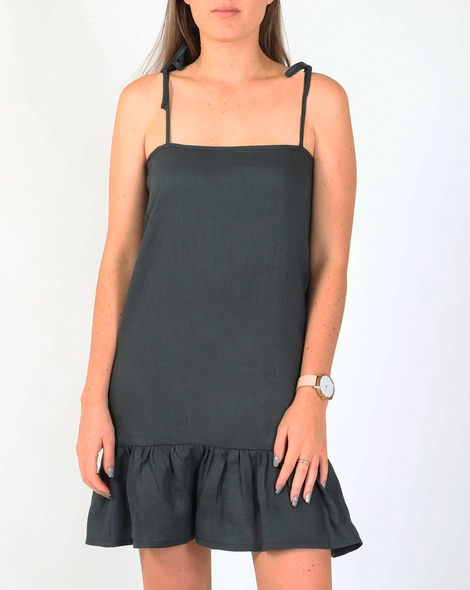 Renee dress kale A