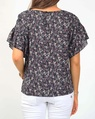 Ditzy fiori top navy B