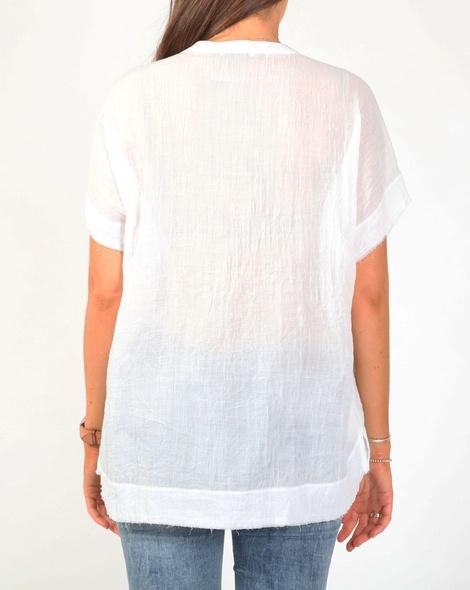 Olinda top white B