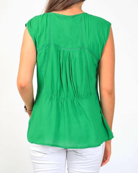 Annie top green B