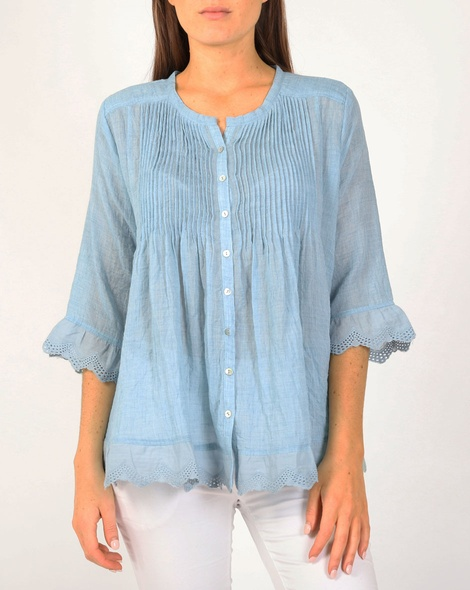 Goldie top blue A