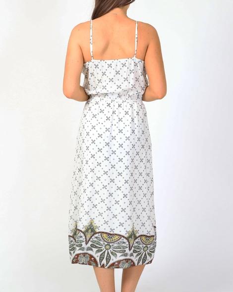 Sally dress white B