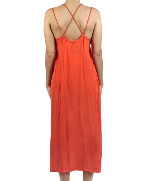 Soiree dress amber back copy