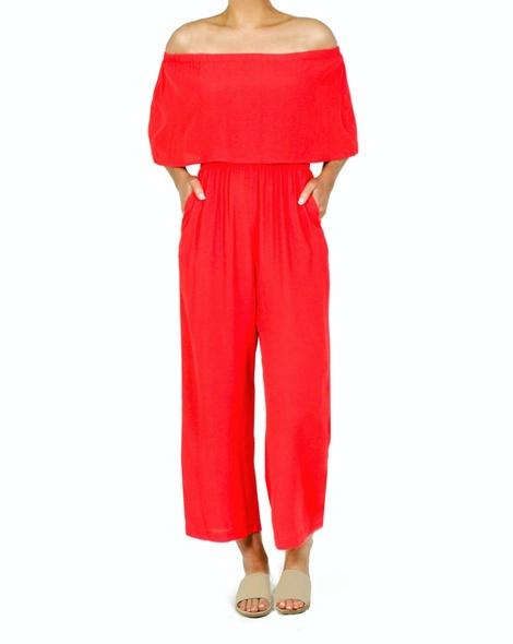 Daphne Jumpsuit red B