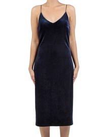 Eva Velvet Slip Dress