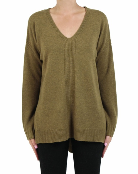 Morgan jumper moss front copy