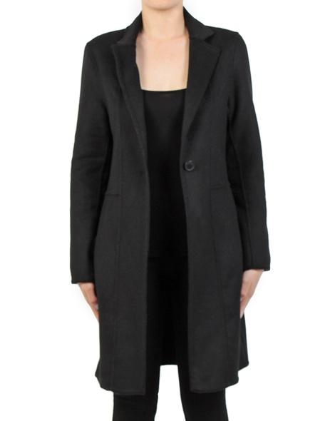 Longline blazer black front copy