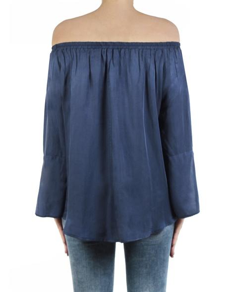 Enrica top blue back