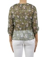 floral catherine top green B