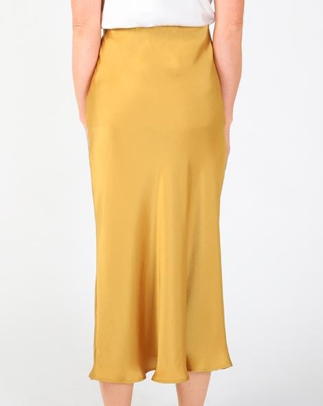 Yelena slip skirt mustard B