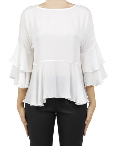 luciana top white A