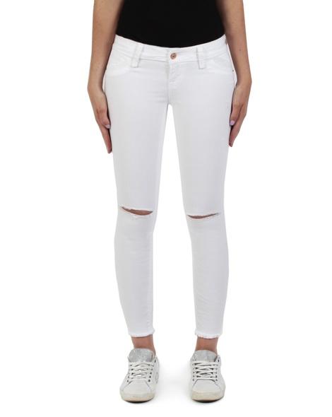 Scarlet White Jean  front