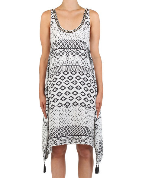 Indiana Print Dress front