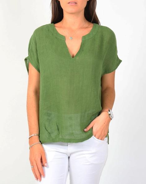 Amalfi top green A