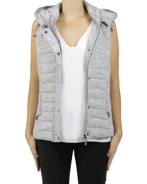 Snow puffer vest A