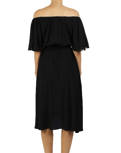 zuzu dress blk B