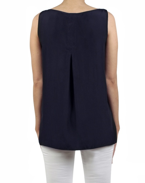 Kendall tank navy back