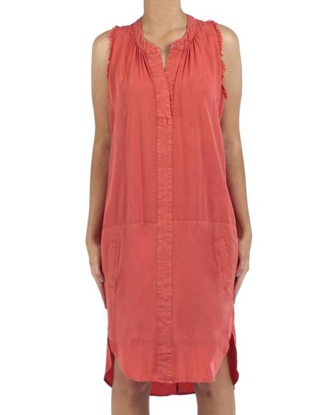 Jarlo dress tangerine front copy