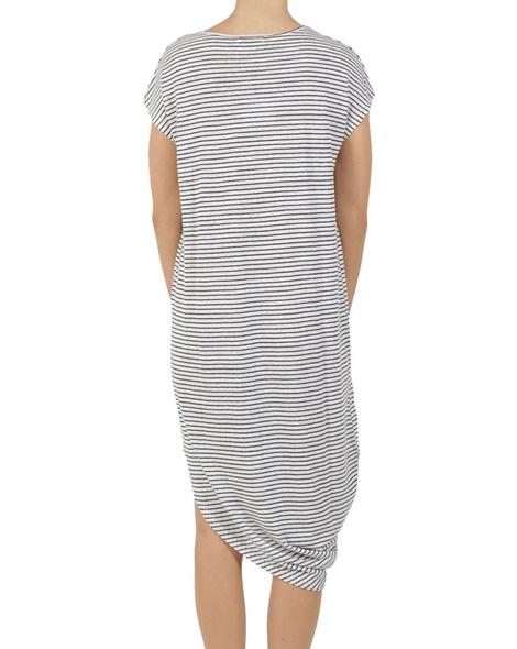 stripey shiloh dress B