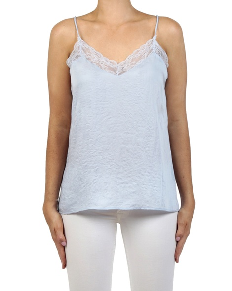 Shiona Lace camisole ice front