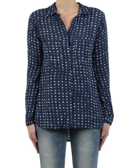 Moonlight shirt navy front