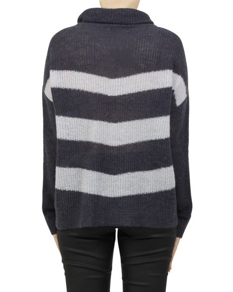 paige stripey knit navy B