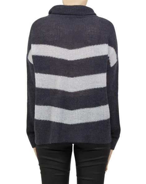 paige stripey knit navy B