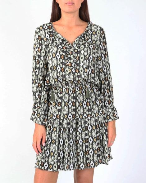 Tribal willow dress A