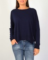 Tommie knit navy white A
