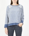 Lumi knit denim A