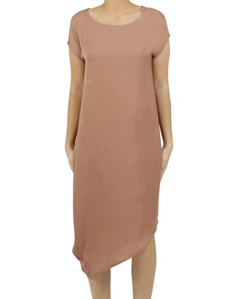 Allegra dress cinnamon Anew
