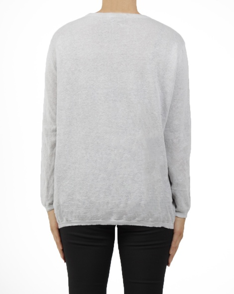 crew neck knit grey B