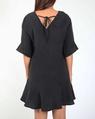 Jessie linen dress blk new style B