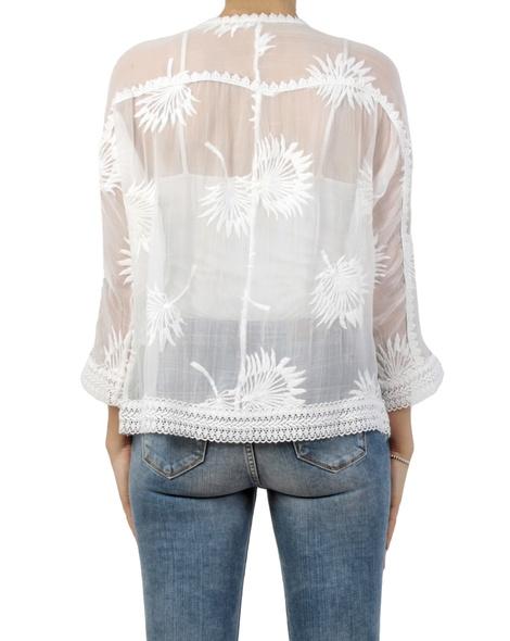 Carly kimono ivory back