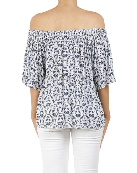 Mykonos top navy B