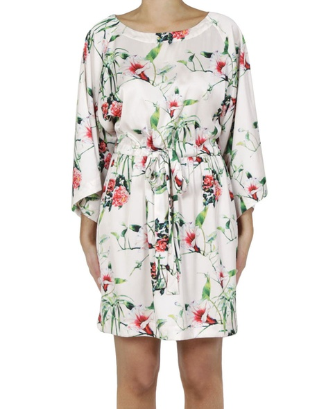 Floral lotus dress A copy