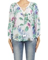 floral mandalay top white A