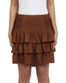 Posie Skirt tobacco front
