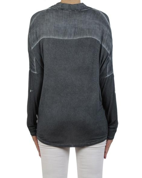 Danah top charcoal back