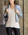 Destin denim jacket wax baxter luxe cashmere sweater (6)