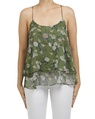floral catherine singlet green A