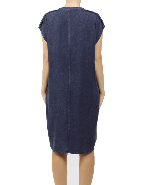 maggie dress navy B