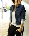 solo denim jacket luxe cashmere sweater sporty drop crotch (32)