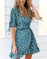 Catorina dress teal  (7)